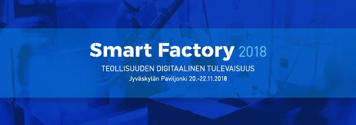 Smart Factory -messuille Jyväskylään 20.-22. marraskuuta!