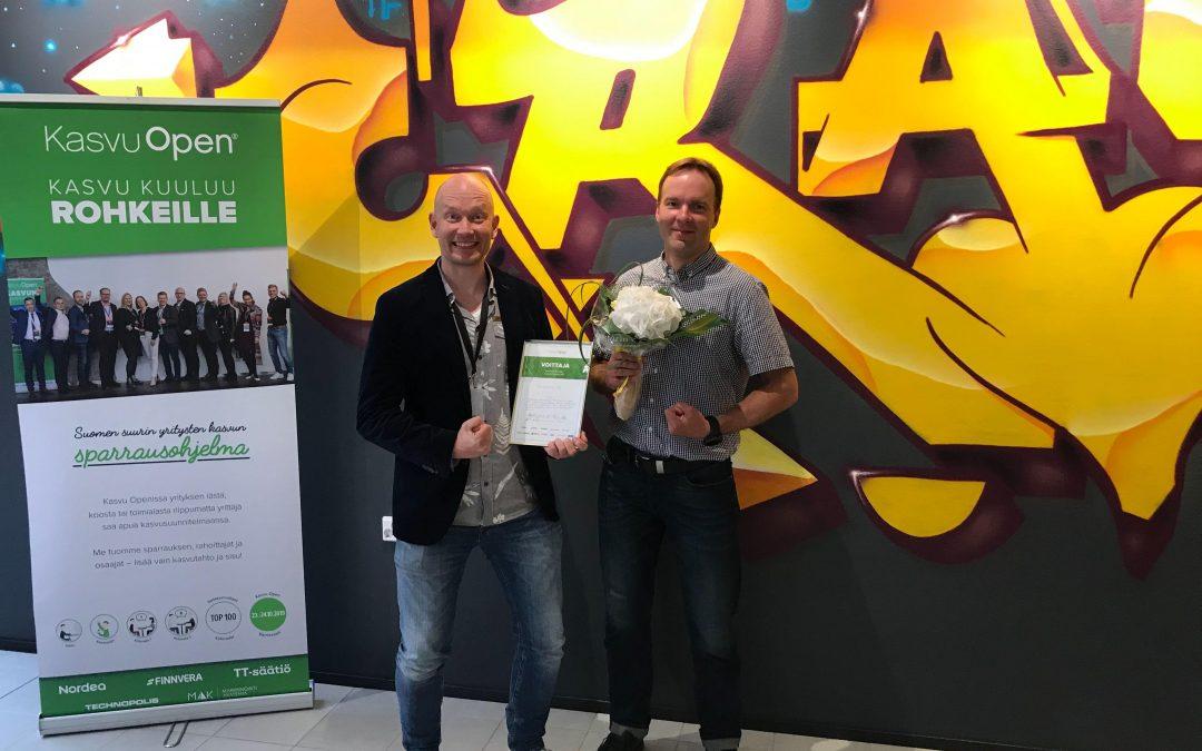 Wisematic valittiin 'Smart Industry' -voittajaksi