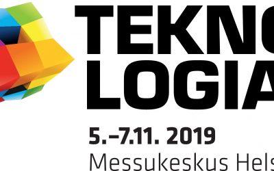 Tule Teknologia19 messuille 5.-7.11.2019!