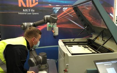 KILT Oy vuokrasi robotin palveluna